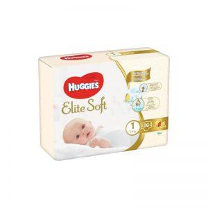 Scutece Huggies Elite Soft numarul 1, 26 buc