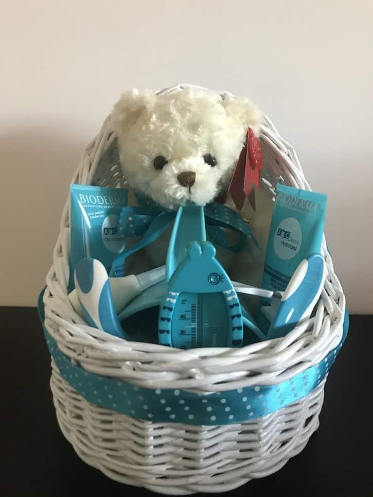 Coşuleţ cadou Răsfăţ cu albastru turcoaz