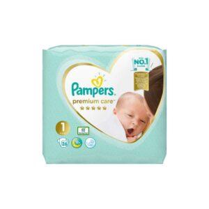 Scutece Pampers Premium Care numarul 1, 26 buc